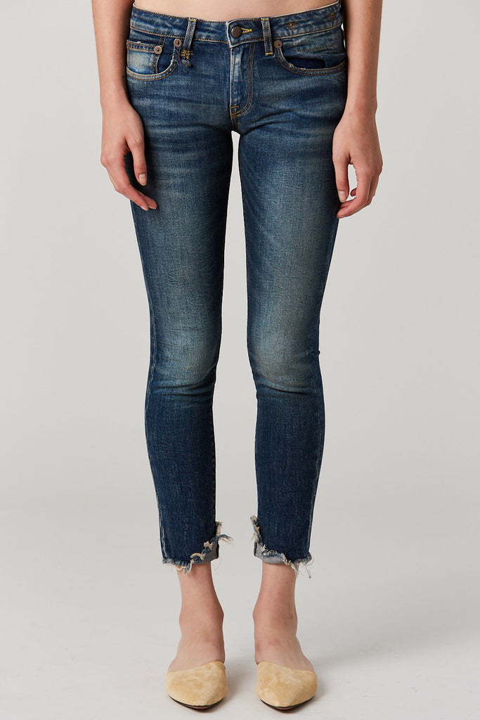 R13 - Cropped Kate Skinny, Garcon