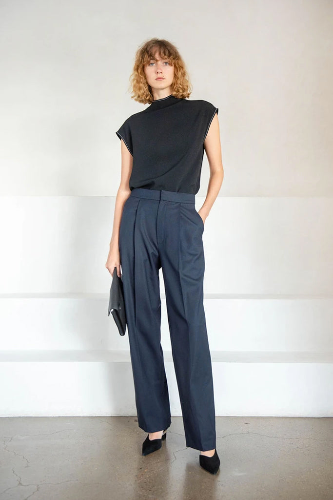 ranha pant, dark blue