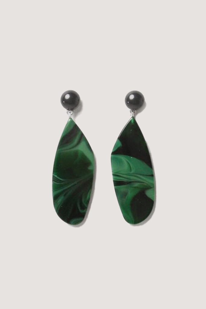 Rachel Comey - Splitleap Earrings, Malachite