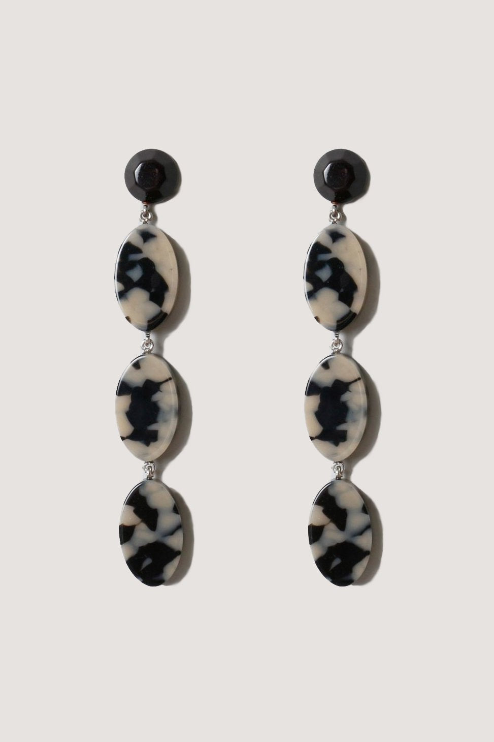 Rachel Comey - Bond long earrings, dalmation