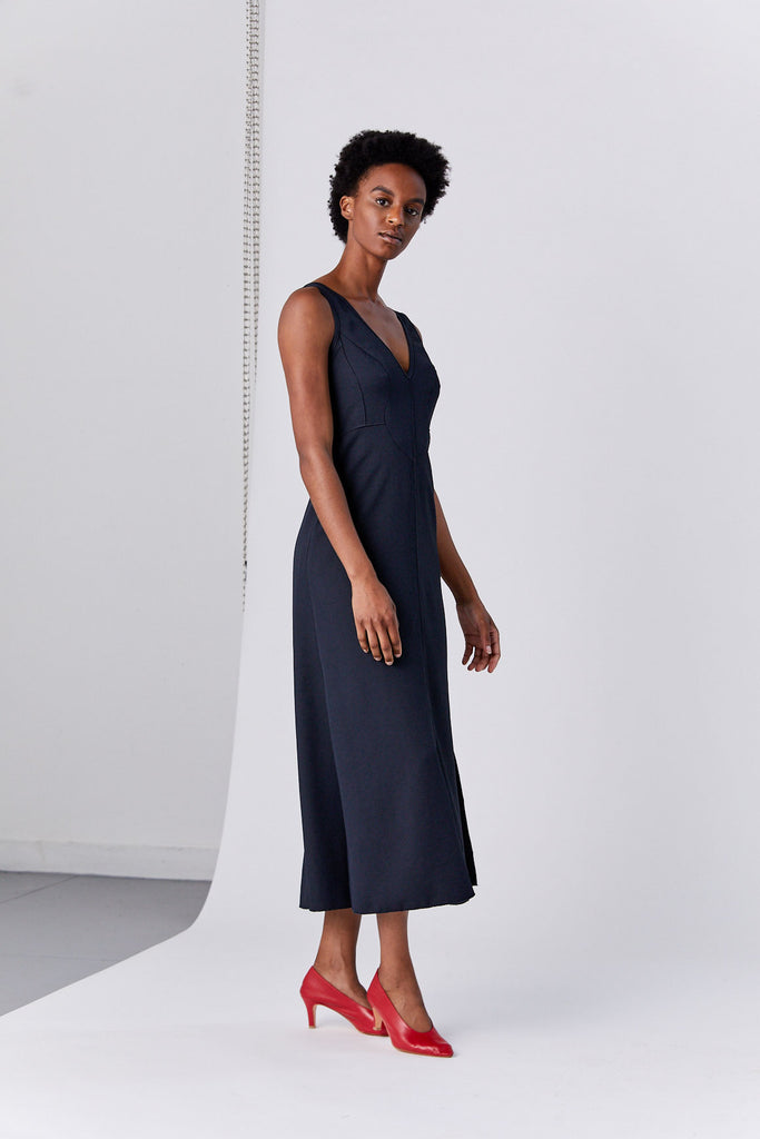 RACHEL COMEY - Agate Dress, Black
