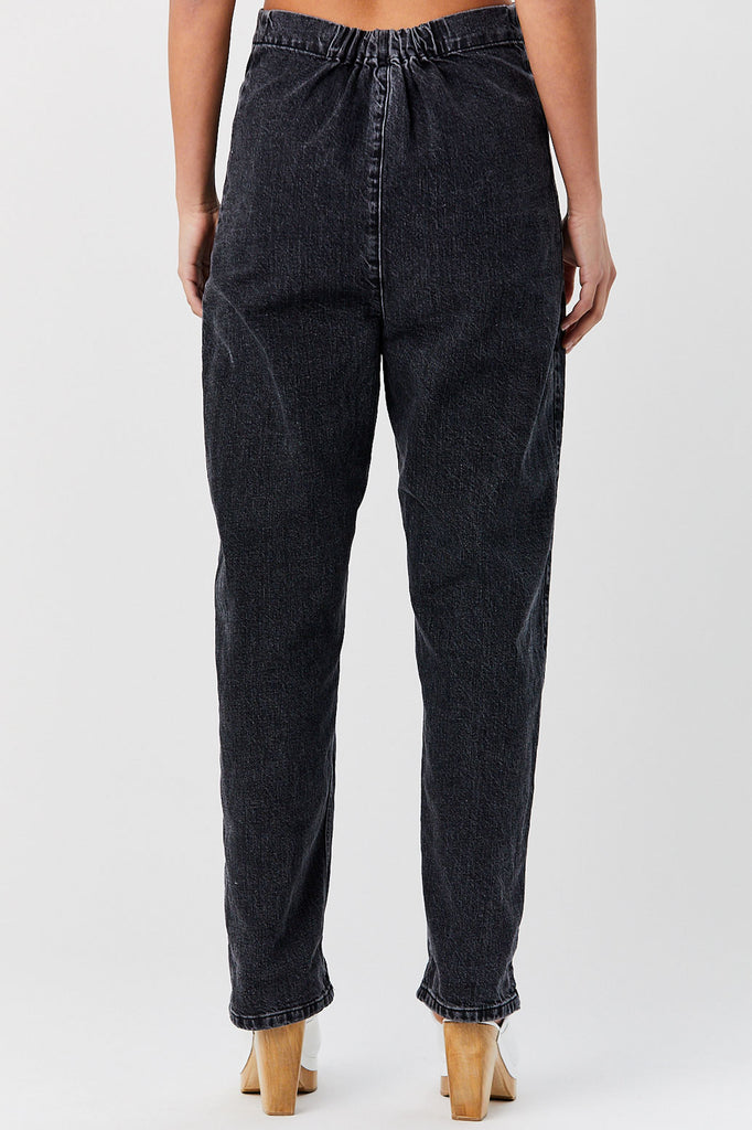 RACHEL COMEY - Barrie Pant, Washed Black Denim