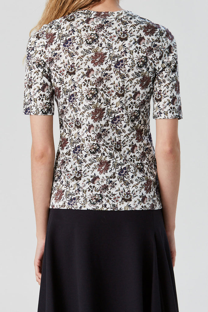 Rachel Comey - Booth Tee, Brown Liberty Jersey