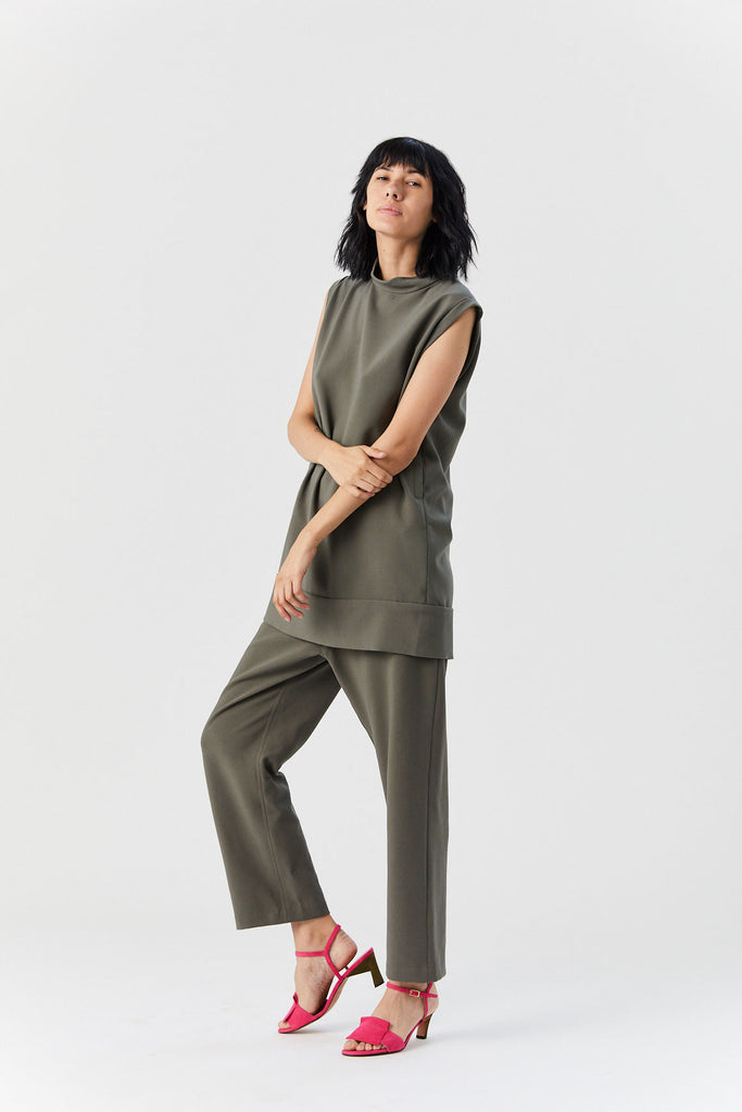 RACHEL COMEY - Ellis Dress, Army