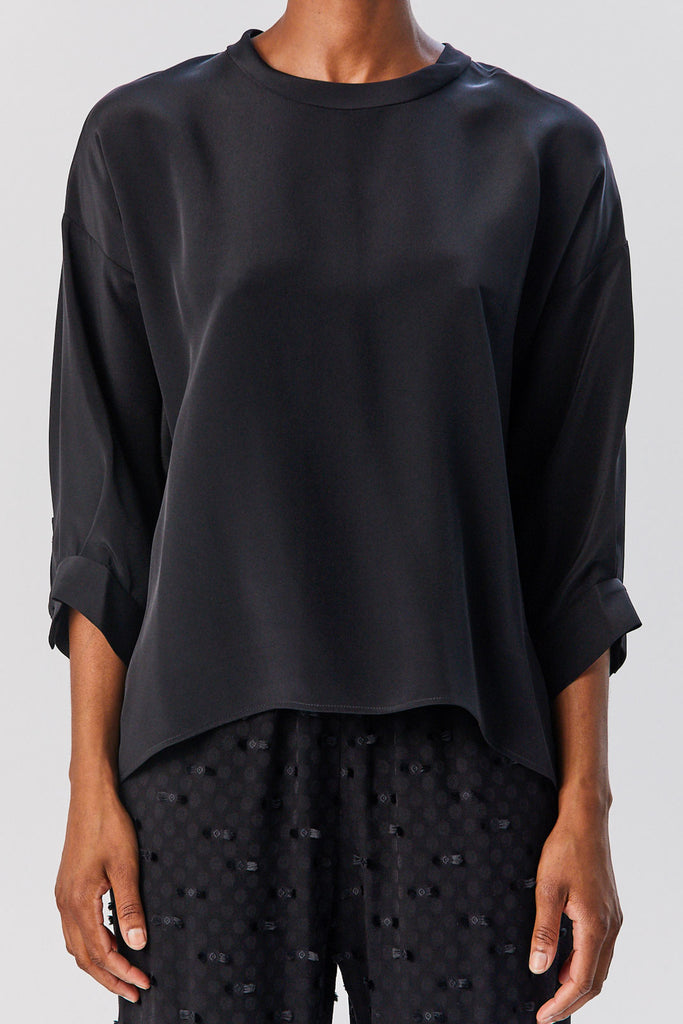 Fond Blouse, Black