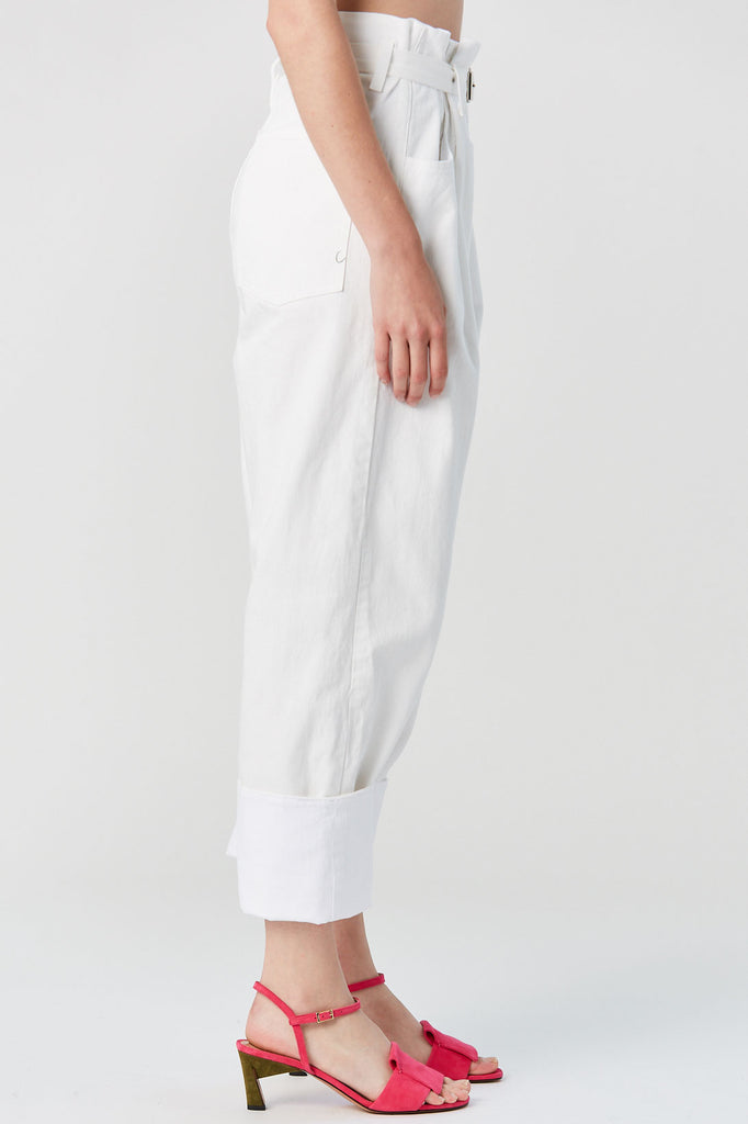 RACHEL COMEY - Irolo Pant, Raw White Denim