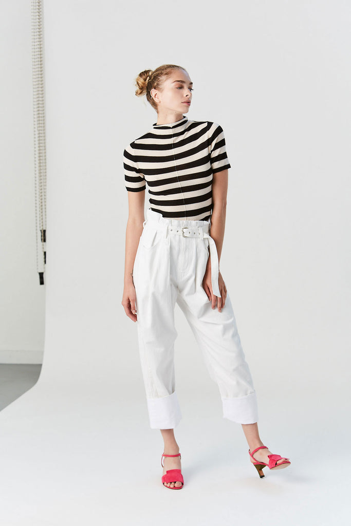 Irolo Pant, Raw White Denim