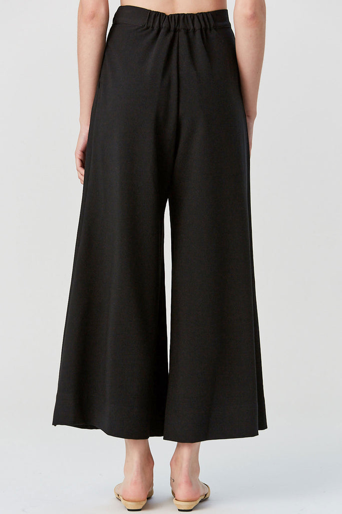 Matteo Pant, Black Stretch Crepe