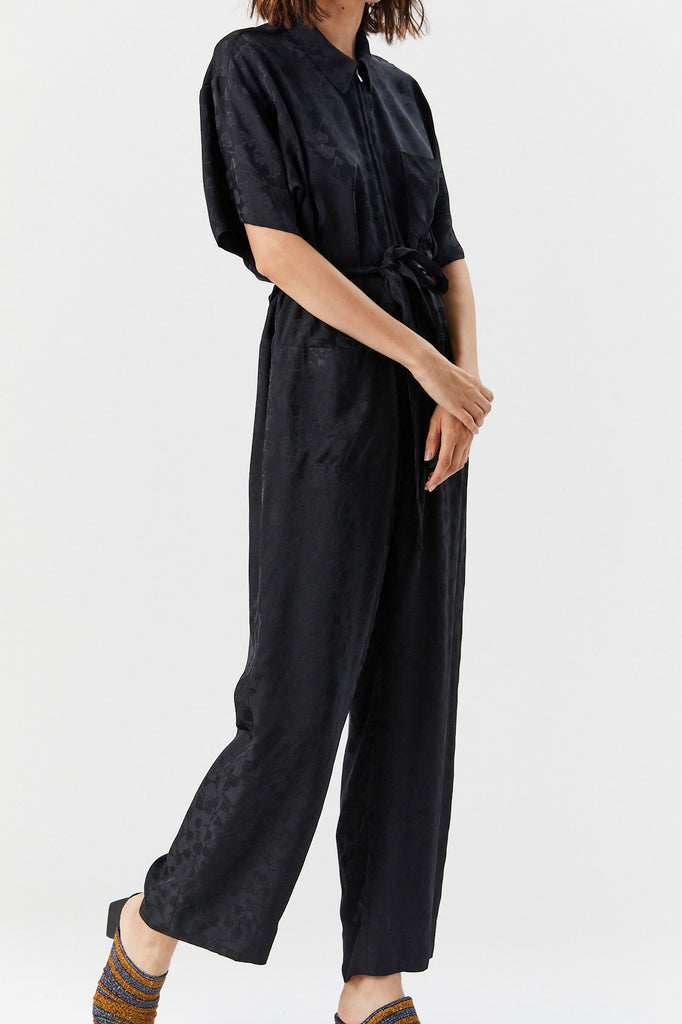 Maxfield Jumpsuit, Black