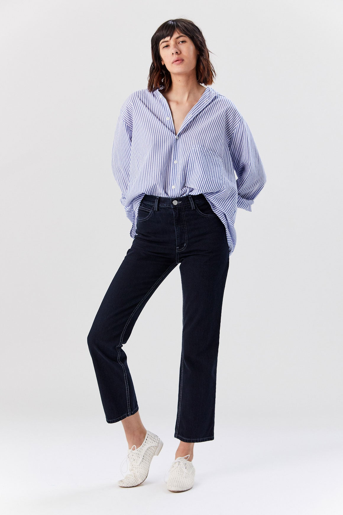 Rachel Comey - New Norm Pant, Dark Indigo Denim