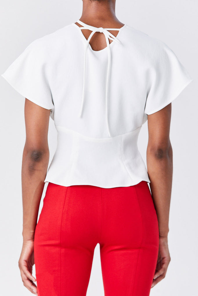 RACHEL COMEY - Peak Top, White