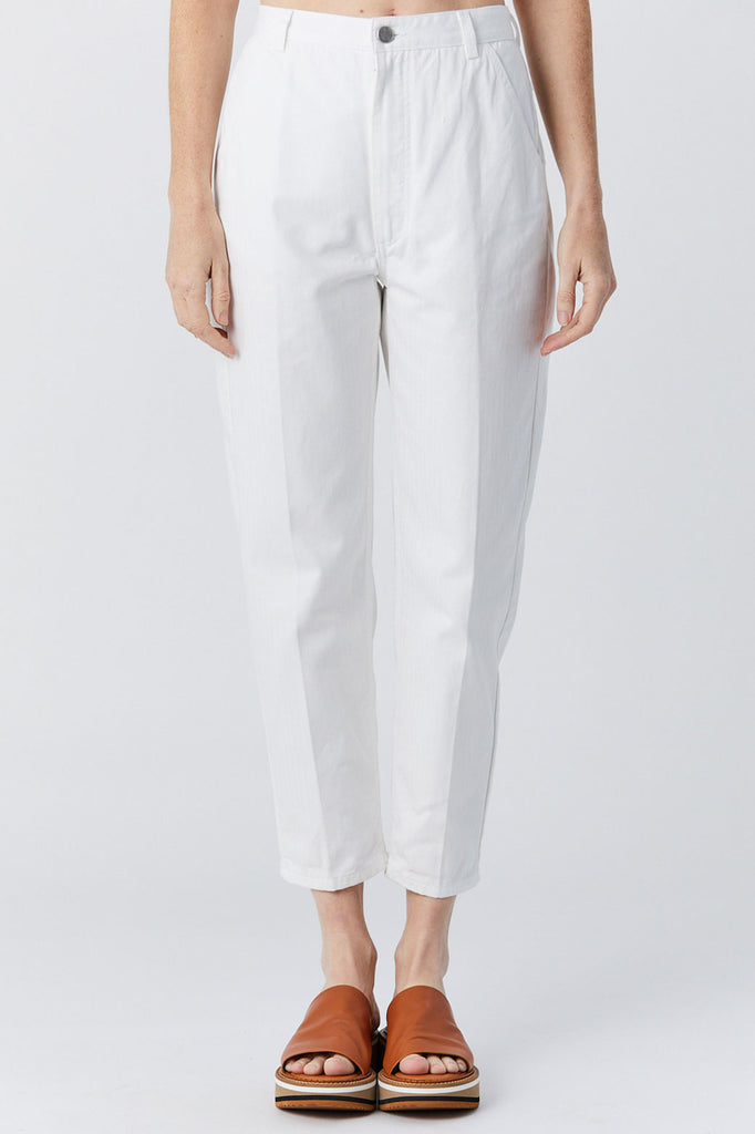 Pseudo Pant, Raw White Denim