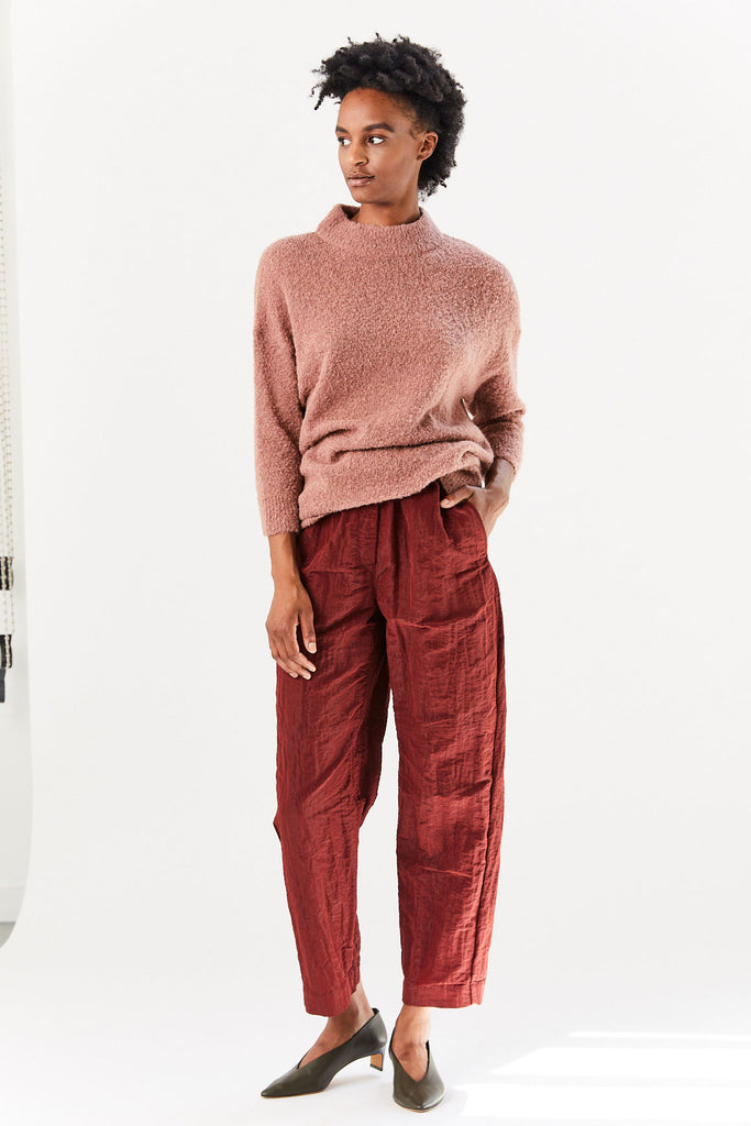 RACHEL COMEY - Xanat Top, Brown Boucle