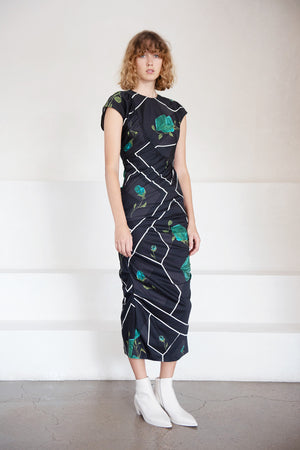 Rachel Comey - new delirium dress, black multi