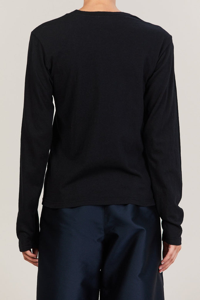 RE/DONE - Long Sleeve Tee, Black