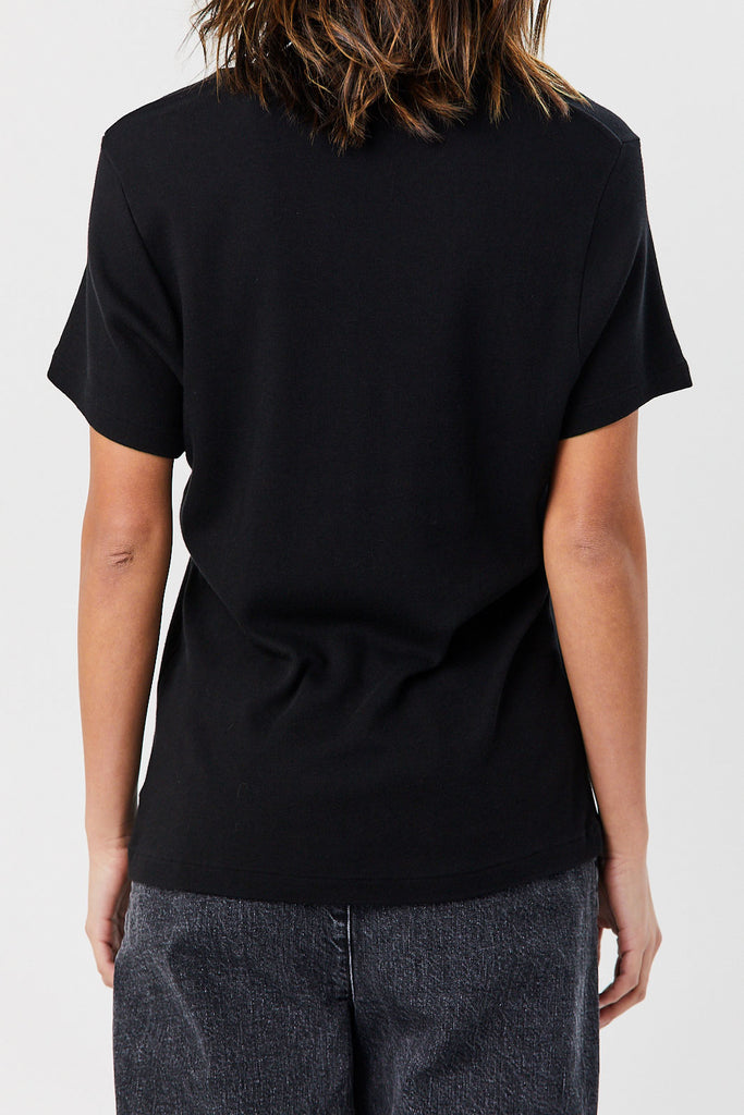 RE/DONE - 70s Loose Tee, Black