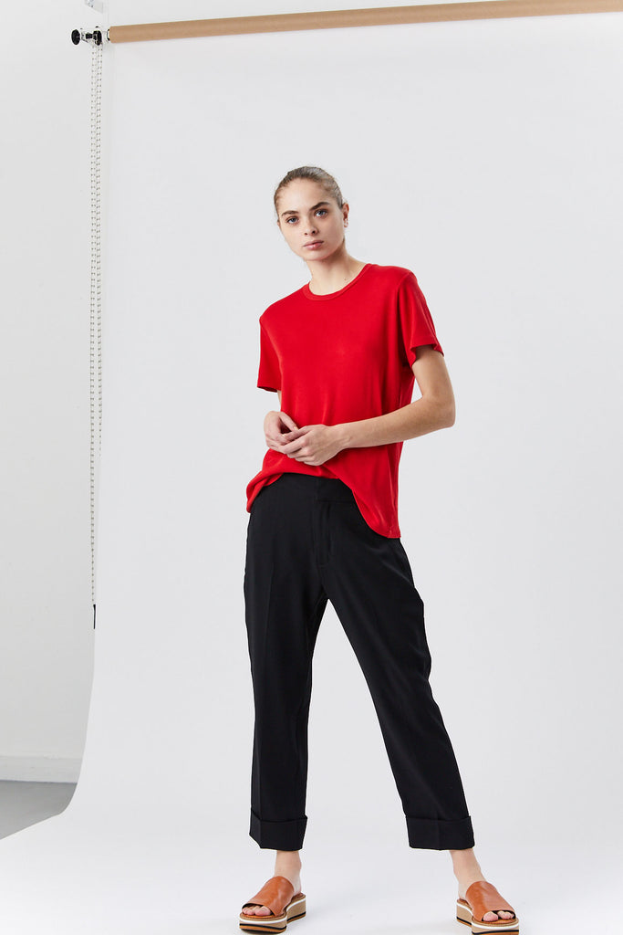 RE/DONE - 70s Loose Tee, Red