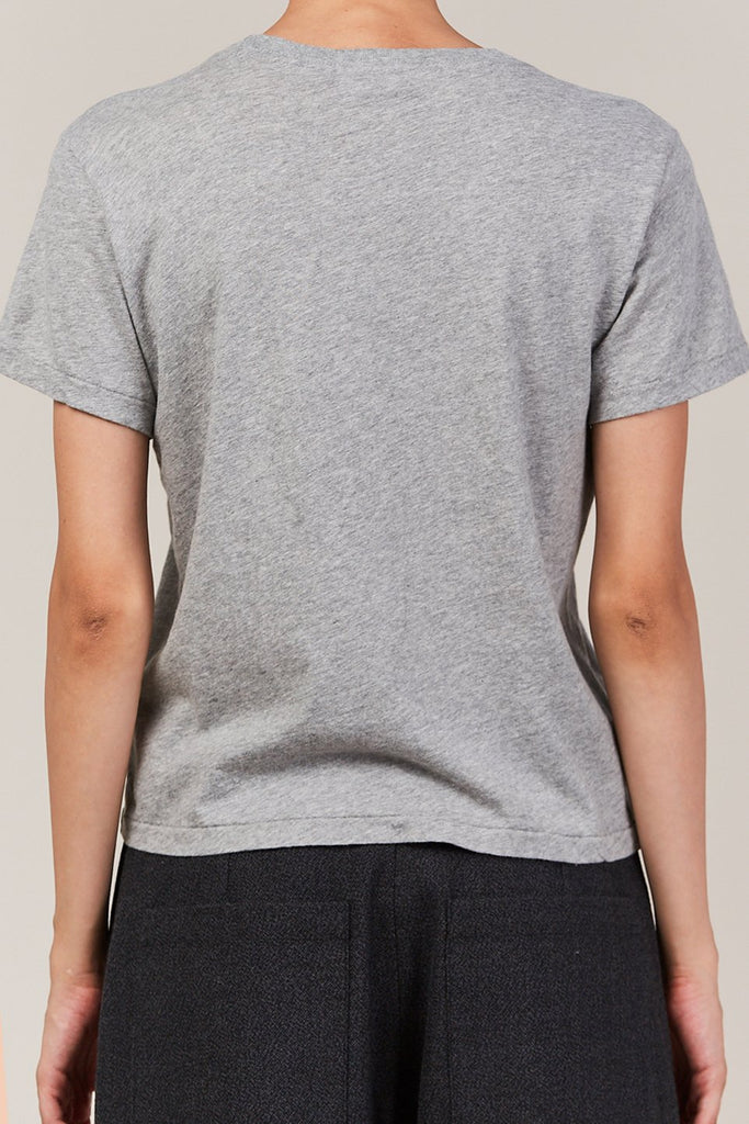 RE/DONE - the classic tee, heather grey