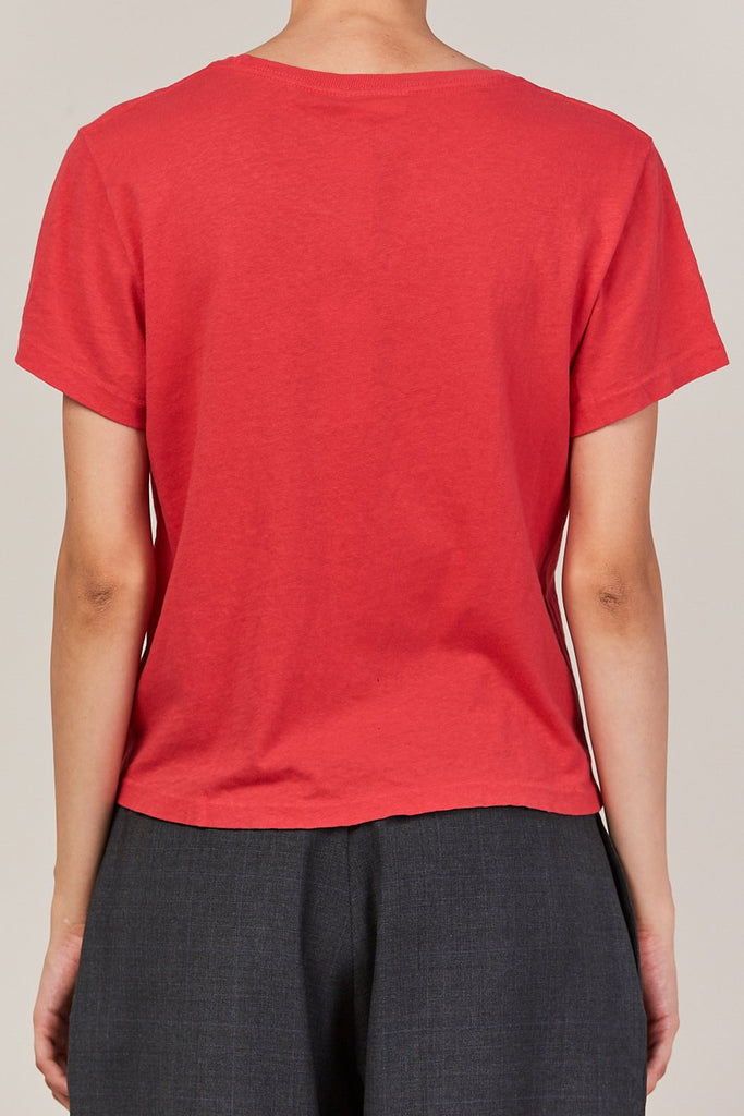 RE/DONE - the classic tee, red