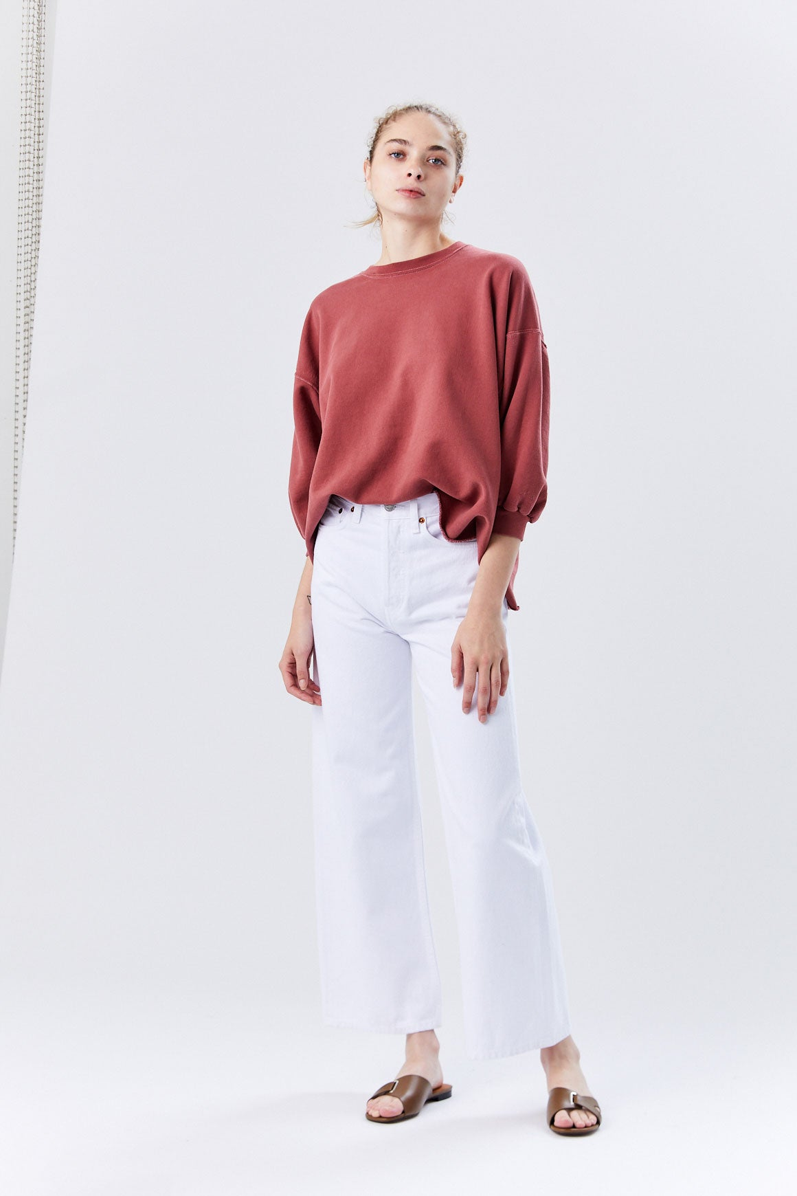 Re/Done - Extreme Wide Leg, White