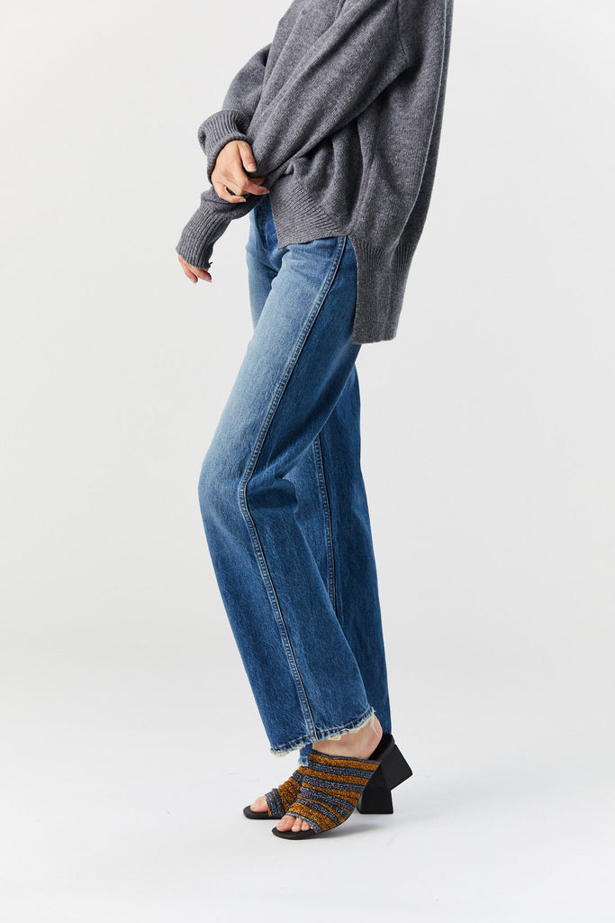 RE/DONE - High Rise Loose, Indigo
