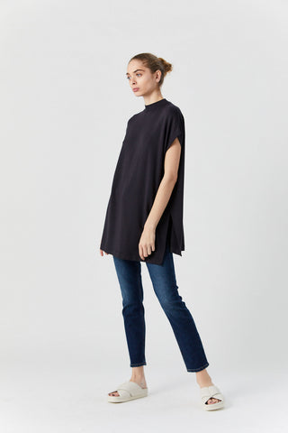 High Rise Ankle Crop, Midnight