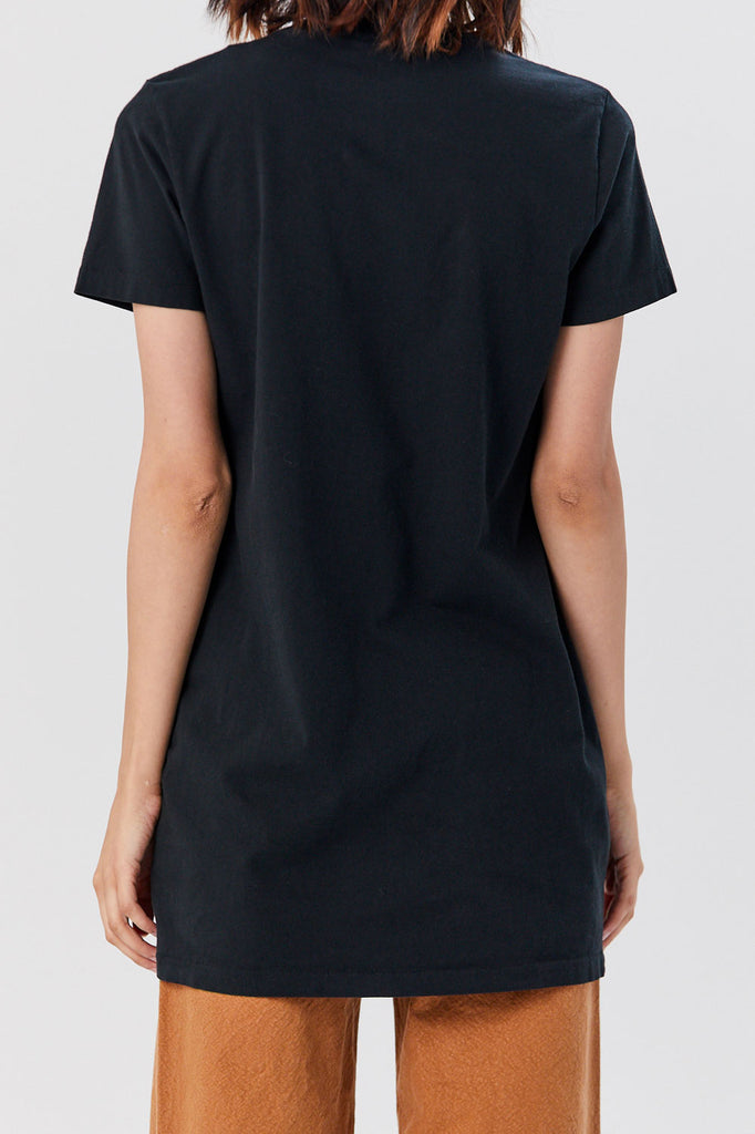 Re/Done - T Shirt Dress, Black