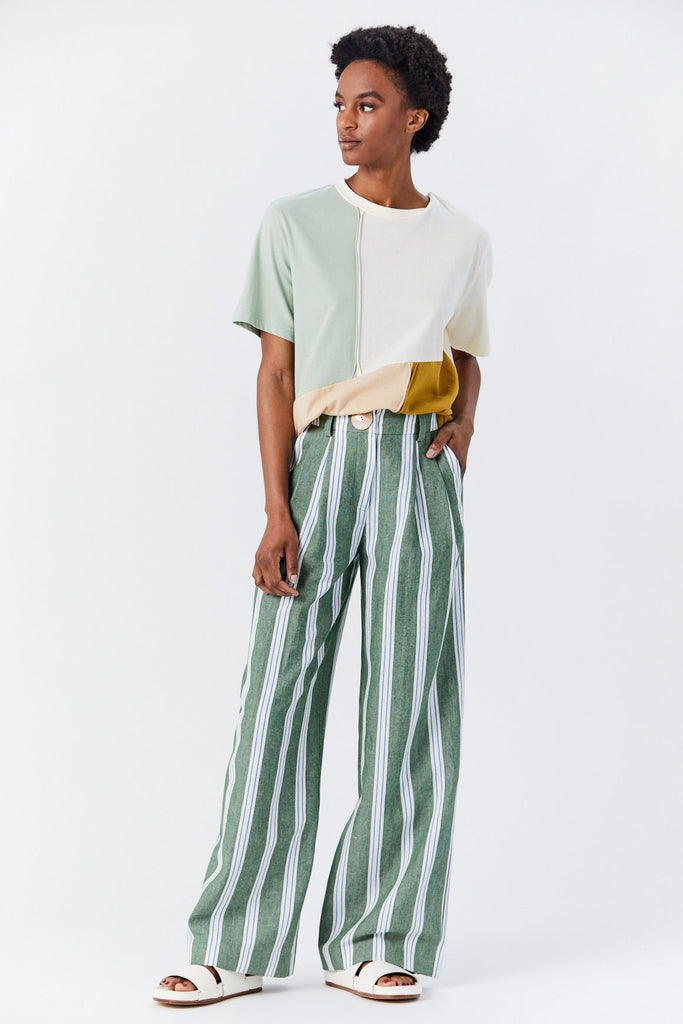 Eddie Trouser, Green Stripe