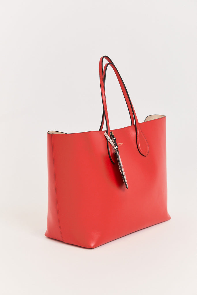Rochas - Calf Leather Bag, Red