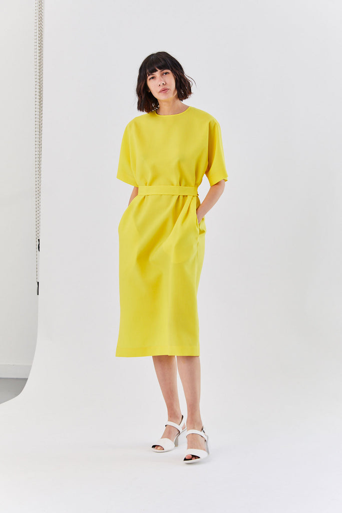 Osprey Dress, Yellow