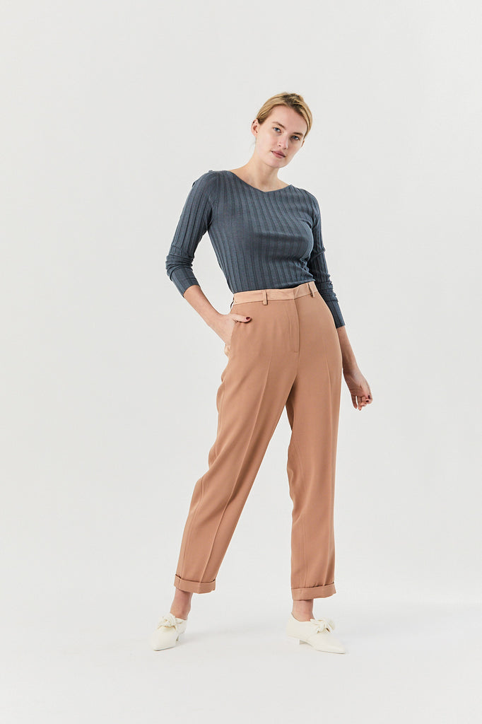 Oderico Pants, Beige