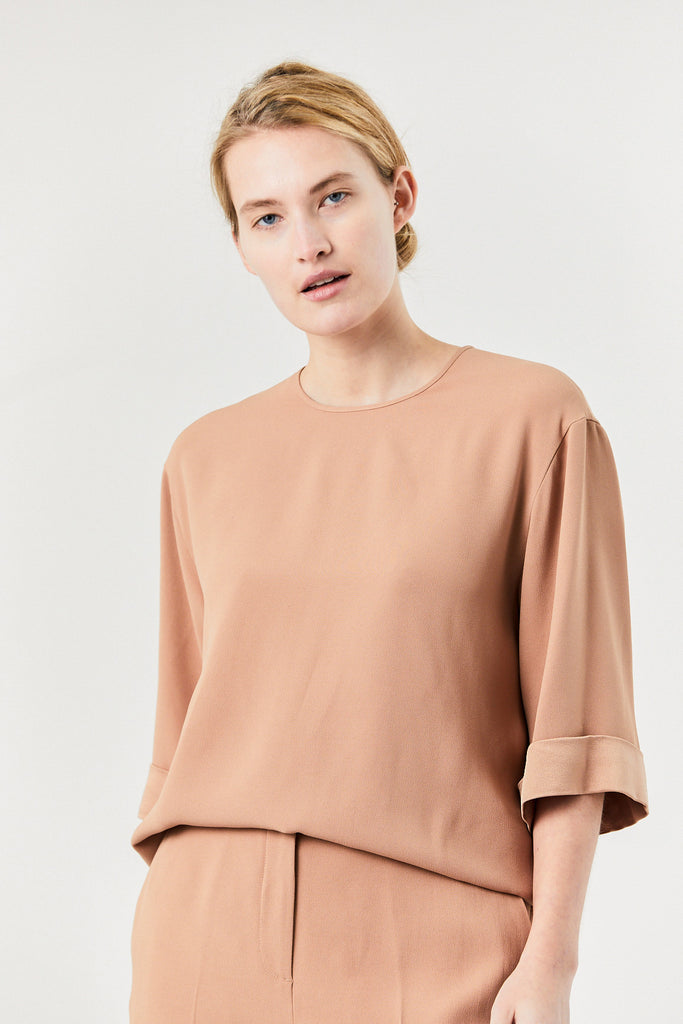Onitha Top, Beige
