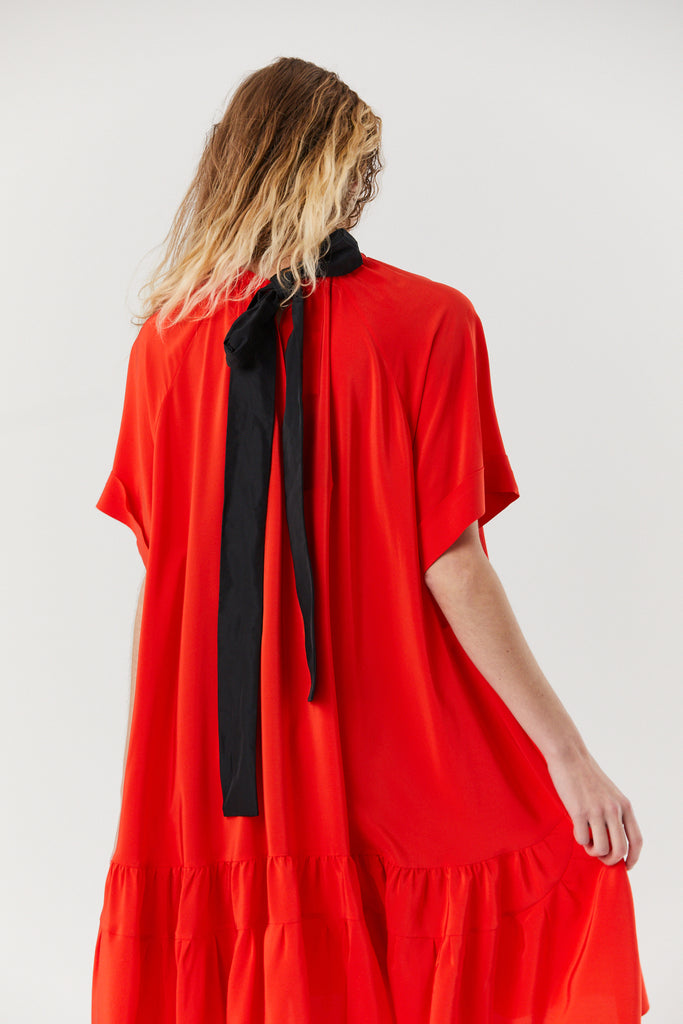 Rochas - Orpello Dress, Red