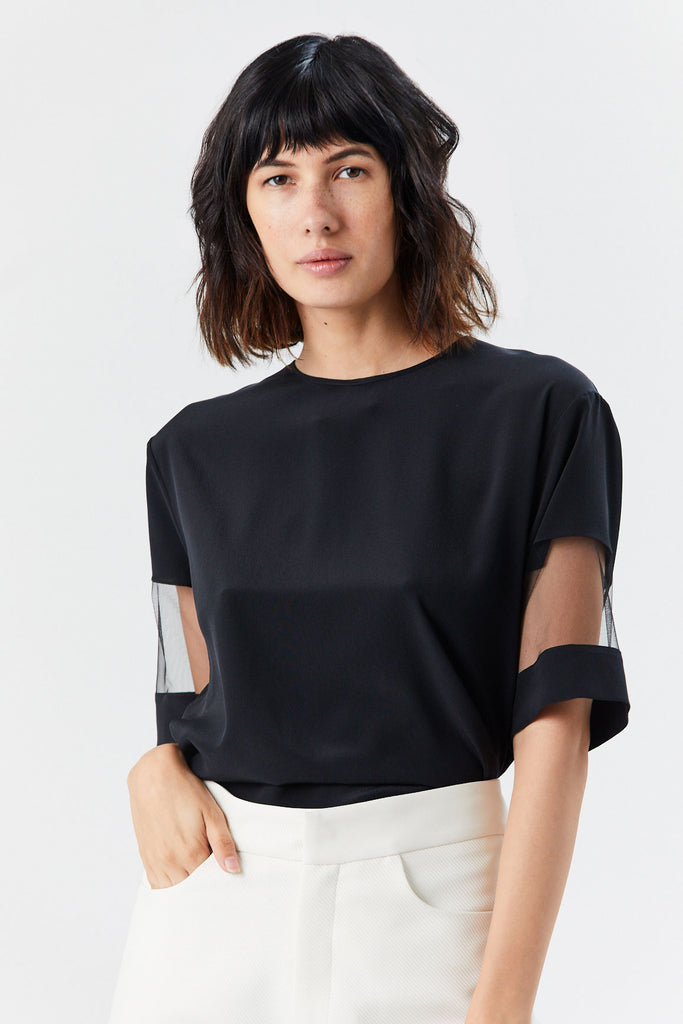 ROCHAS - Pina Top, Black