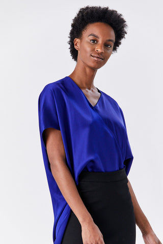 Caftan Top, Cobalt
