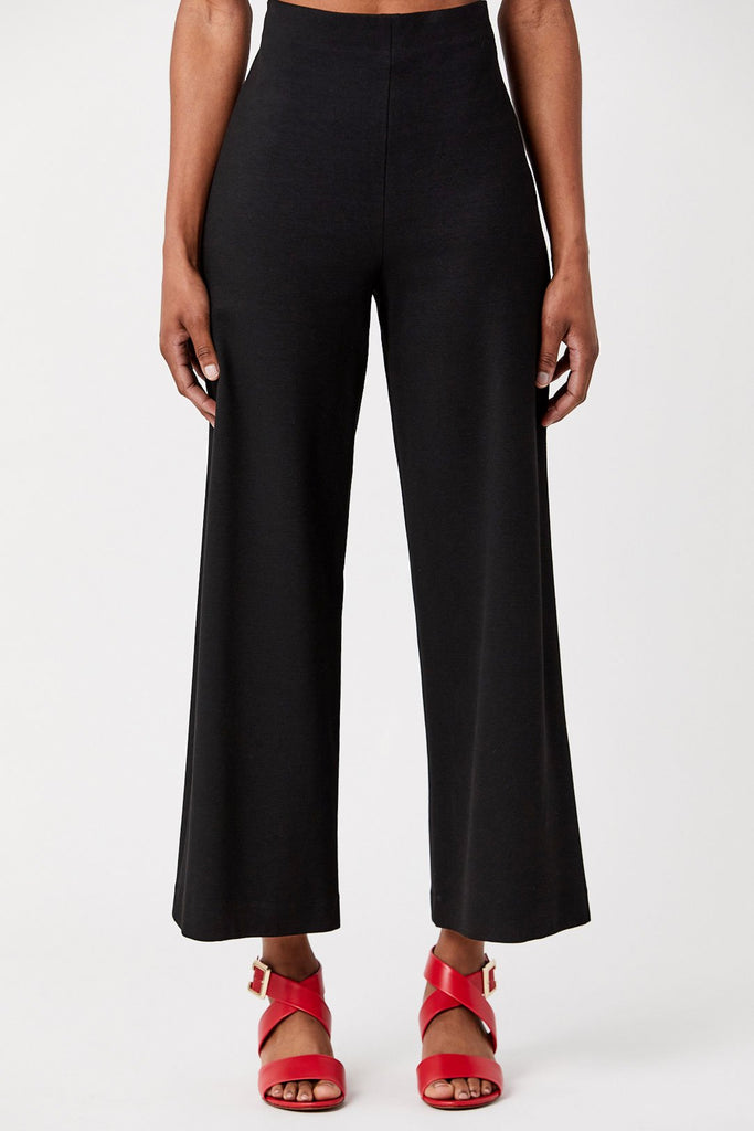 Rosetta Getty - Cropped Straight Pant, Black