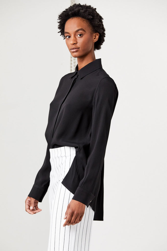 Rosetta Getty - Flare Back Shirt, Black