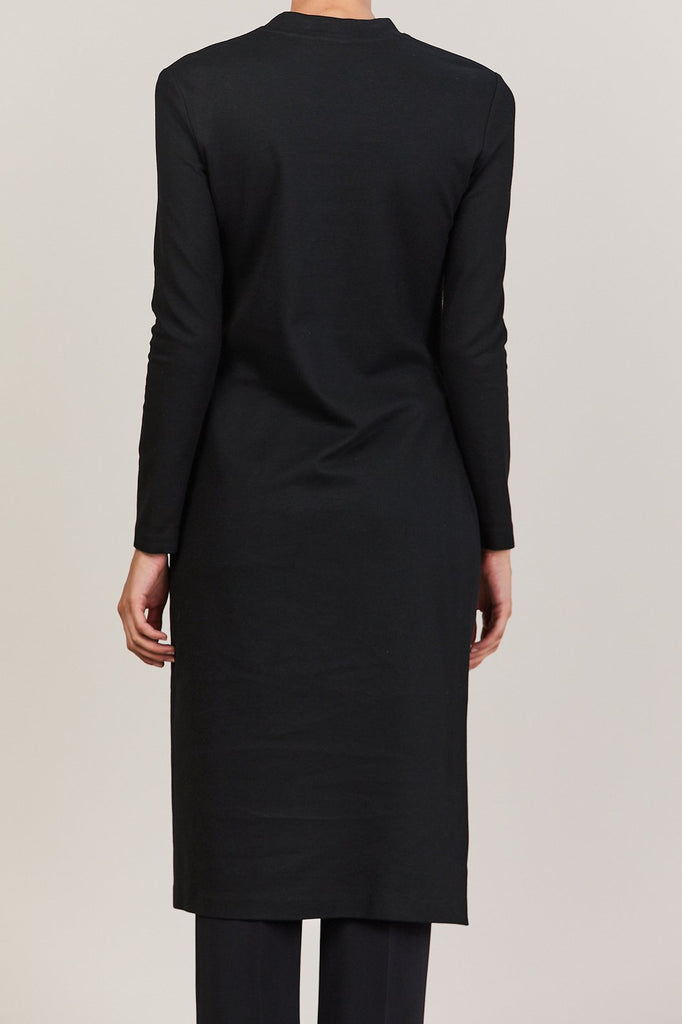Rosetta Getty - Long Sleeve Split Top, Black