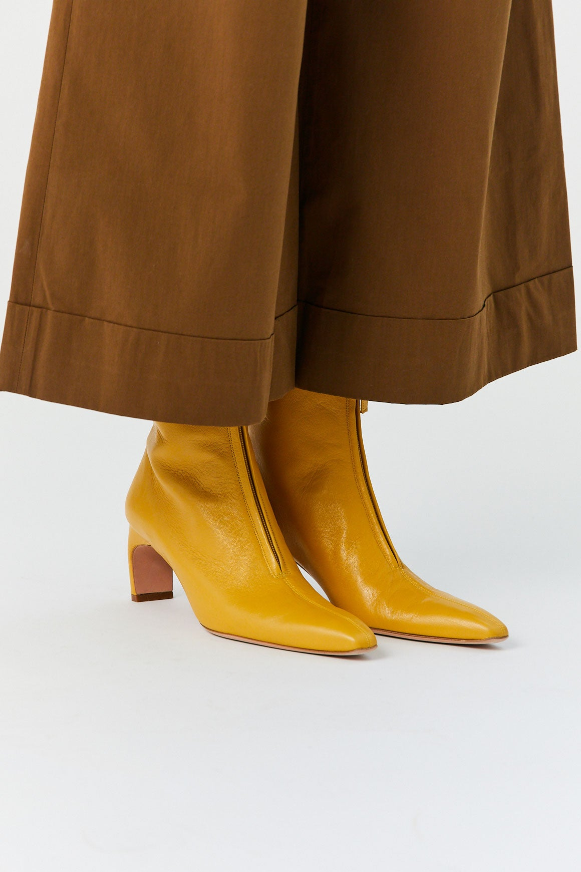 ROSETTA GETTY - Ankle Boot, Yellow