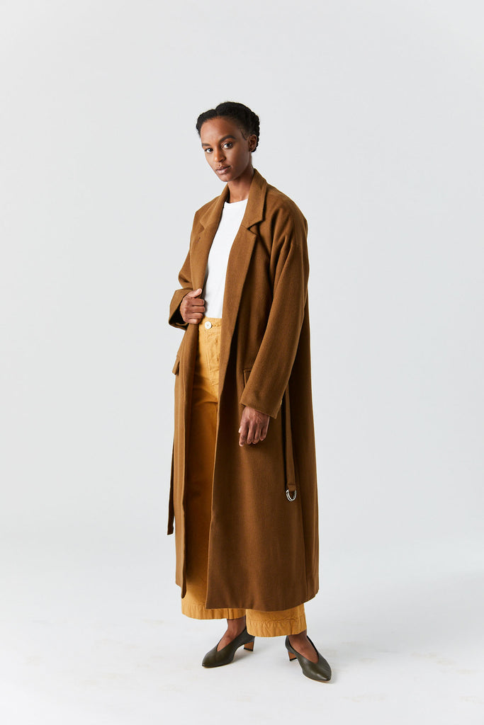 ROUCHA - Robe Coat, Camel