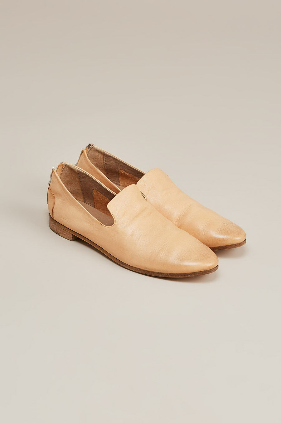 Colteldino loafer w/ zip, Natural by Marsèll @ Kick Pleat - 1