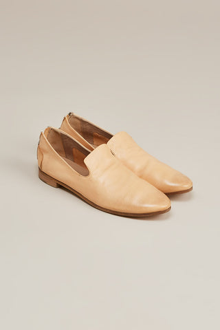 Colteldino loafer w/ zip, Natural