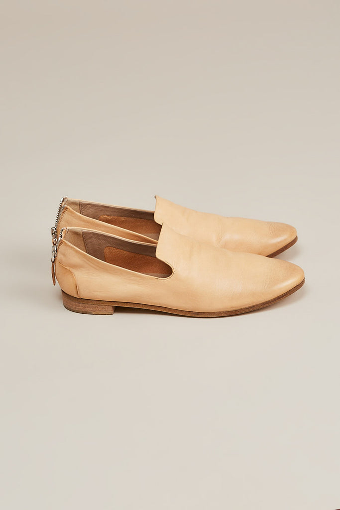 Colteldino loafer w/ zip, Natural by Marsèll @ Kick Pleat - 2