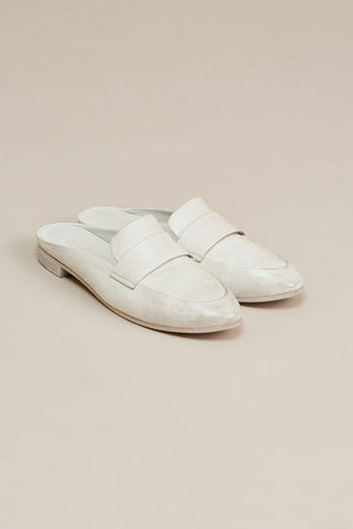 Colteldino loafer slide, White