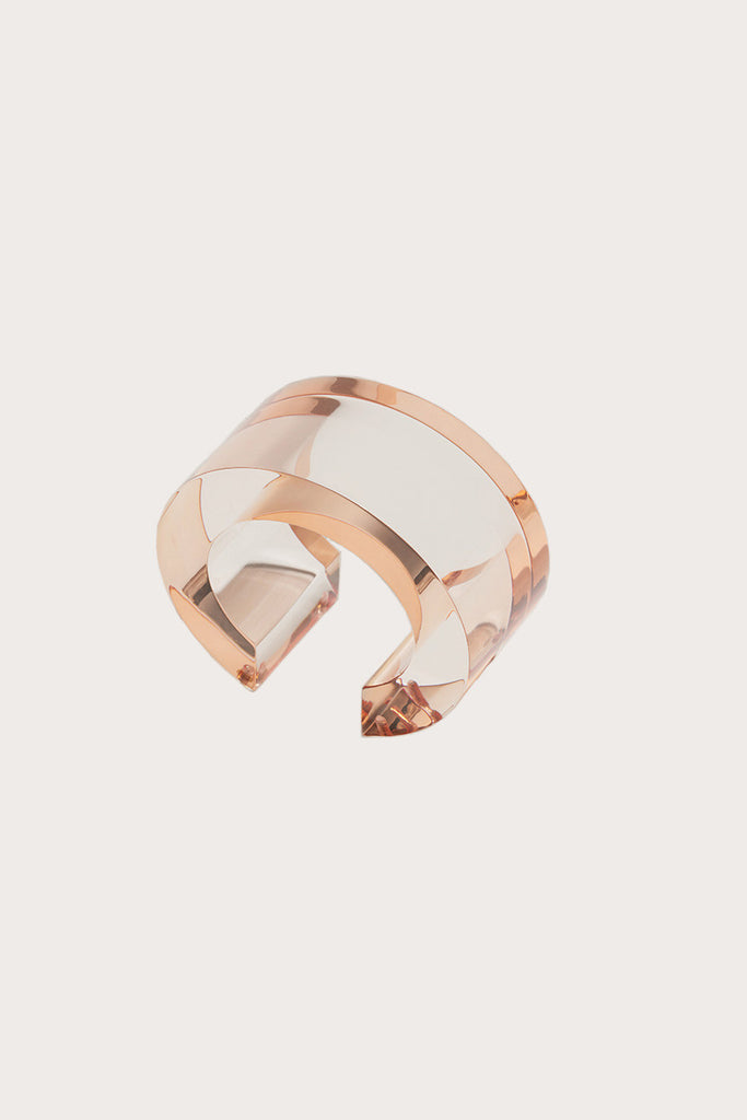 Post modern cuff in Peach