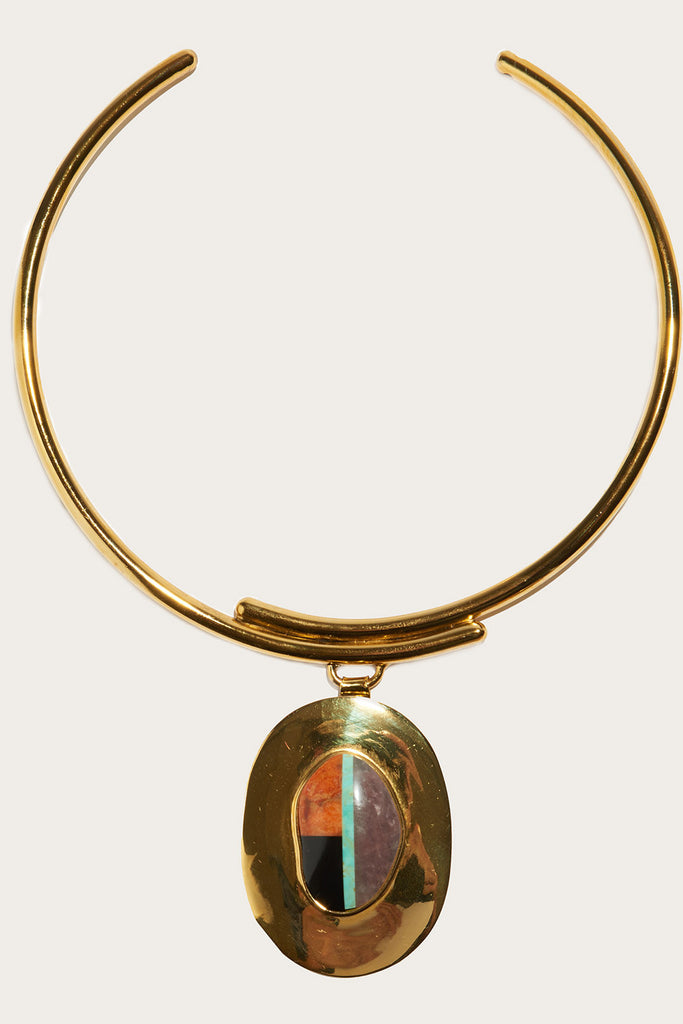 Regal Pendant Collar by Lizzie Fortunato