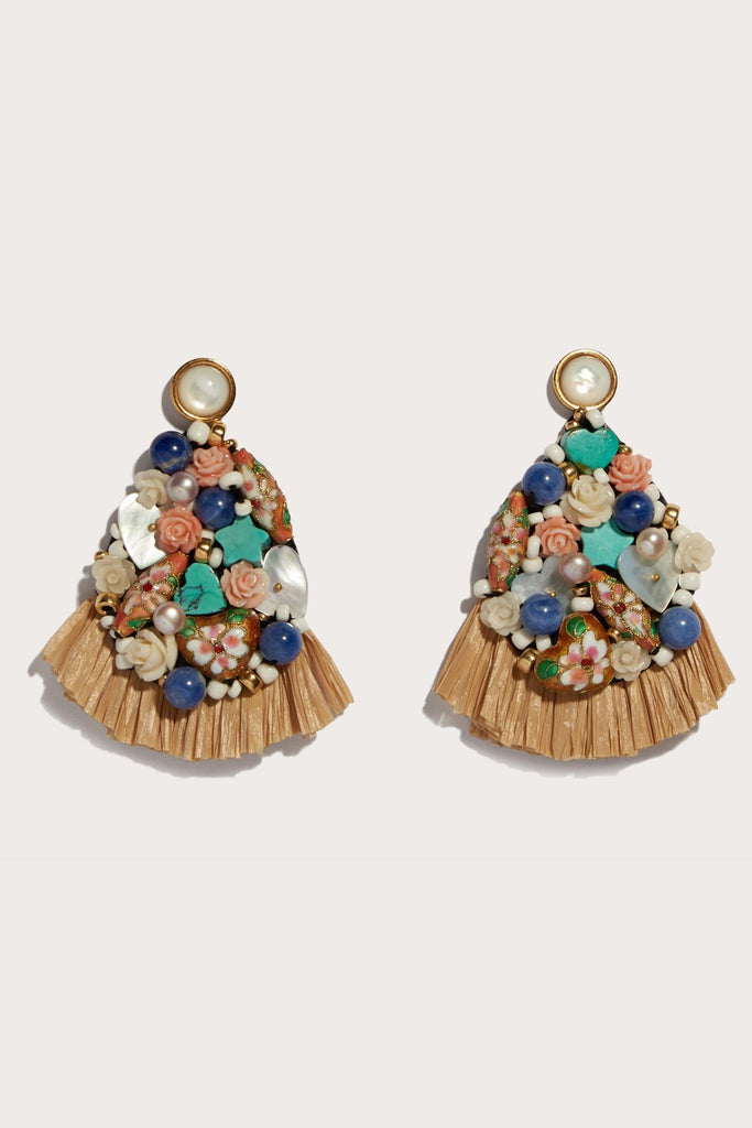 daydream raffia earrings