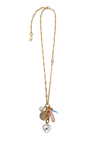 amalfi charm necklace