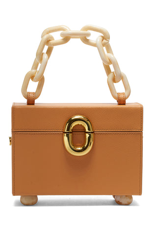 cinema box bag, butterscotch