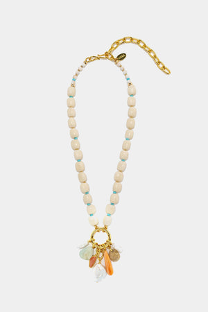 Lizzie Fortunato - floating fields necklace, multi